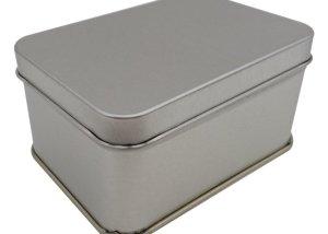 Cr16 100 x 71 x 50mm Rectangular Tin Box