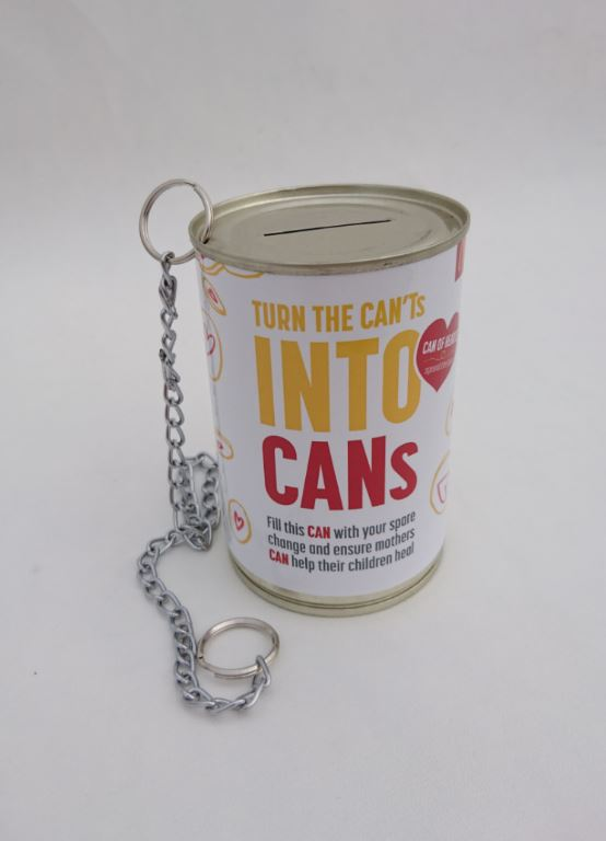 Mcdonalds Branded Money Tin from Can It - Money Tin Supplier South Africa