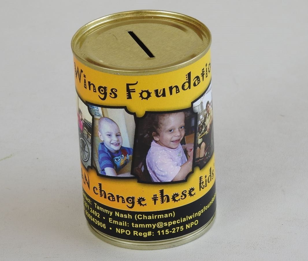 The Wings Foundation Branded Money Box