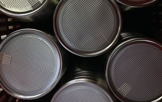 Metal Lids for Food Cans