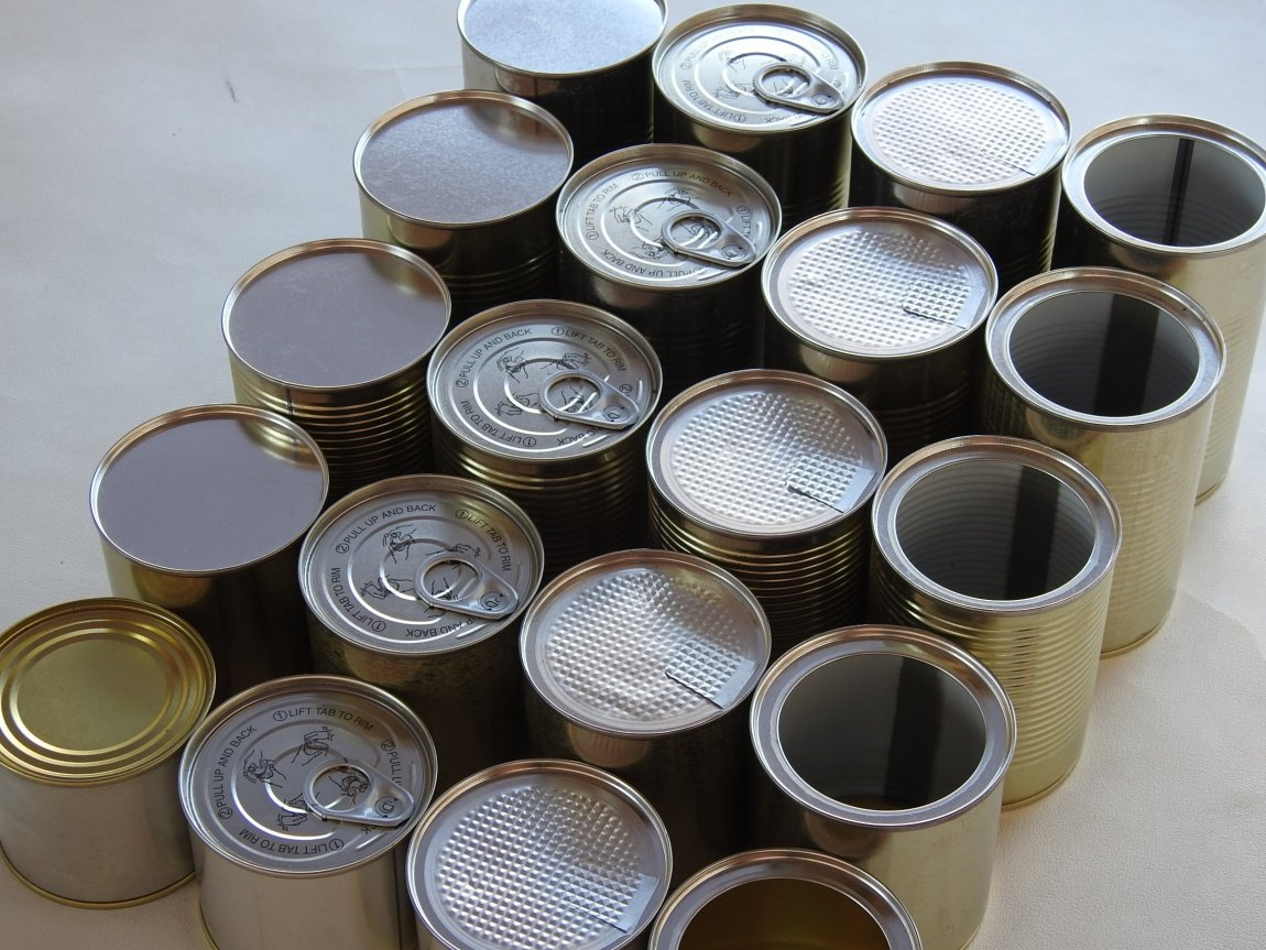 Food Cans for Sale