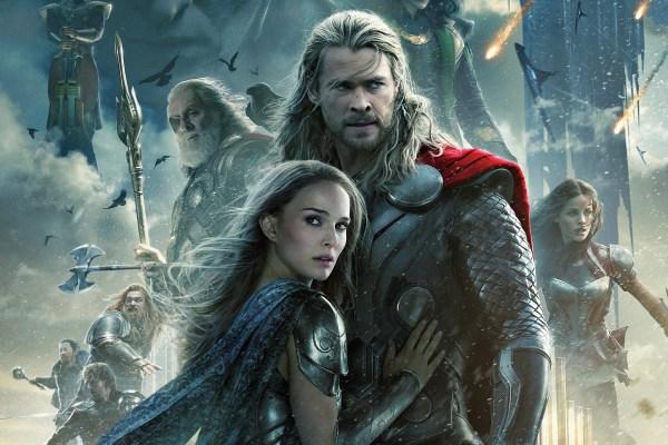 CIBASS Thor 2 el mundo oscuro cartel principal