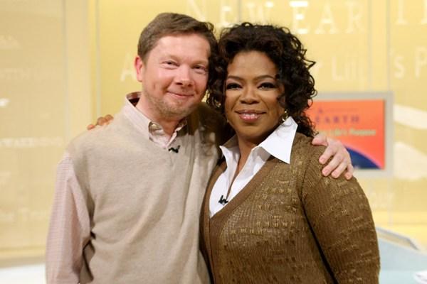 CIBASS Eckhart Tolle y Oprah Winfrey