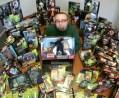 CIBASS El coleccionista Adam Shields conStar Wars
