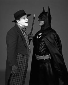 CIBASS Nicholson y Keaton en Batman