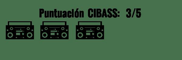 CIBASS Puntuación CIBASS Tres puntos