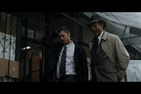 CIBASS Seven Morgan Freeman Brad Pitt Walking in the rain