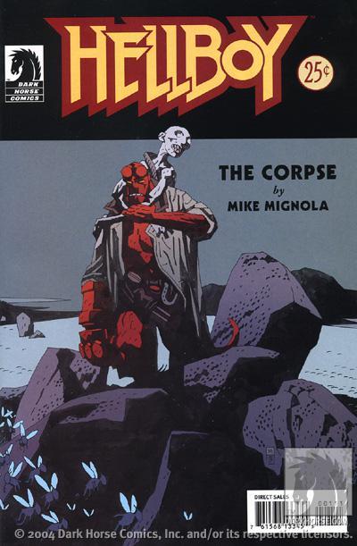 CIBASS Hellboy portada de The Corpse