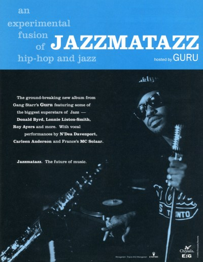 CIBASS Jazzmatazz hosted by Guru
