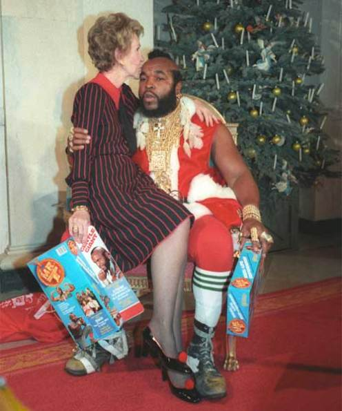 CIBASS Nancy Reagan y Mister T