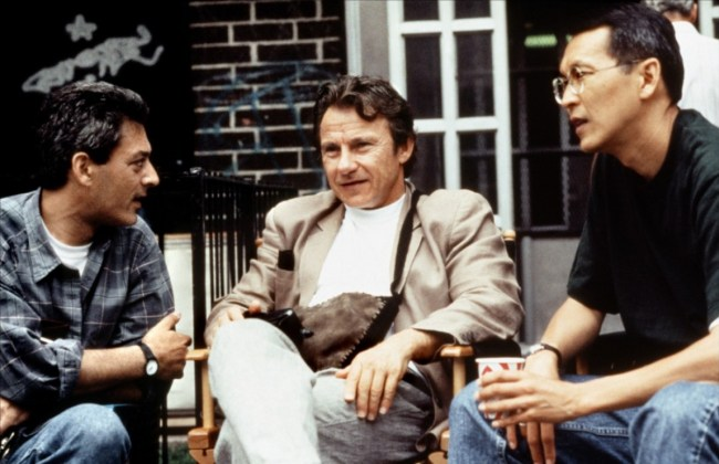 CIBASS Smoke, Paul Auster, Harvey Keitel y Waine Wang