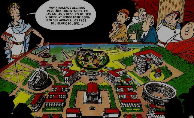 CIBASS Asterix la residencia de los dioses tres