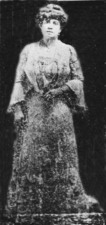 """Lulu Withe, dueña del """"Mahogany Hall"""" uno de los más famosos y lujosos burdeles de Storyville"""