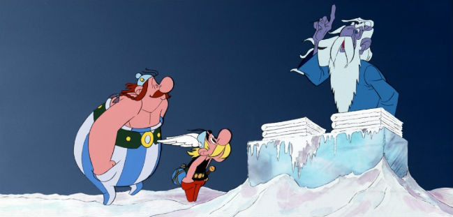 CIBASS Las doce pruebas Asterix 1