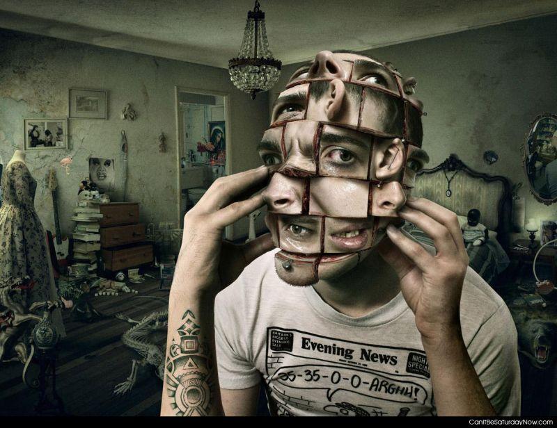 Puzzle face