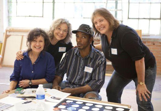 Lydia, Susan, Jonathan, and Sue