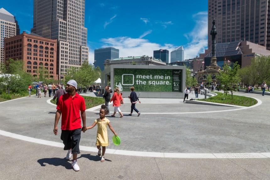 Public Square Public Opening June 30, 2016- Photo © Bob Perkoski, www.Perkoski.com