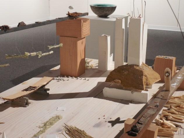 Barbara Vernier, untitled. Mixed media.