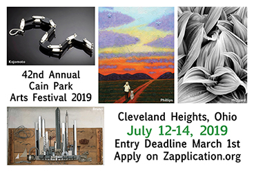 Call for Artists to apply to Cain Park Arts Festival