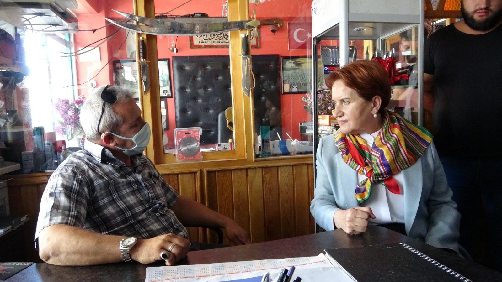 """Esnaftan Akşener'e tepki: """"Siz HDP ile bir oldunuz"""""""