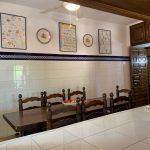 Location Villa piscine privée Ametlla de Mar Costa Dorada Espagne Can Lepez table de cuisine pour 12 personnes