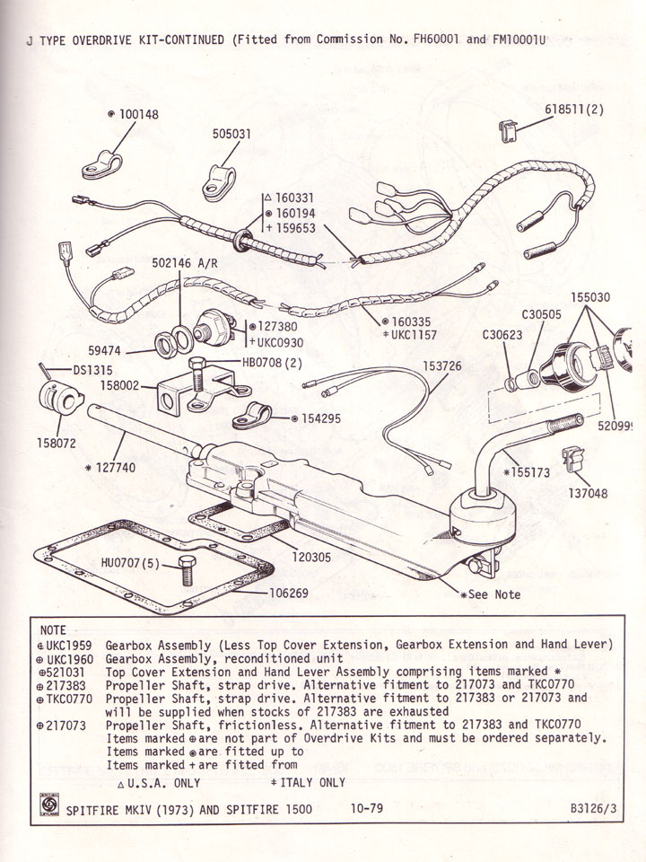 triumph spitfire overdrive gearbox wiring diagram wiring diagram on