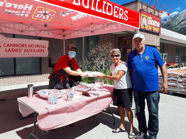 Fundraisers in Canmore, Home Hardware.