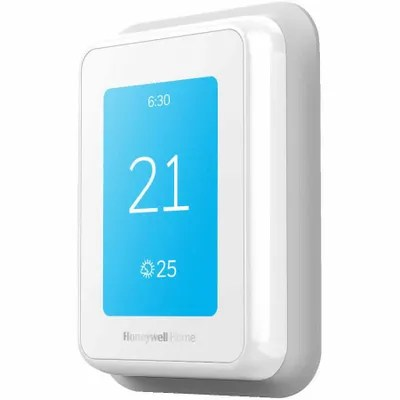 Smart thermostats at Canmore Home Hardware.