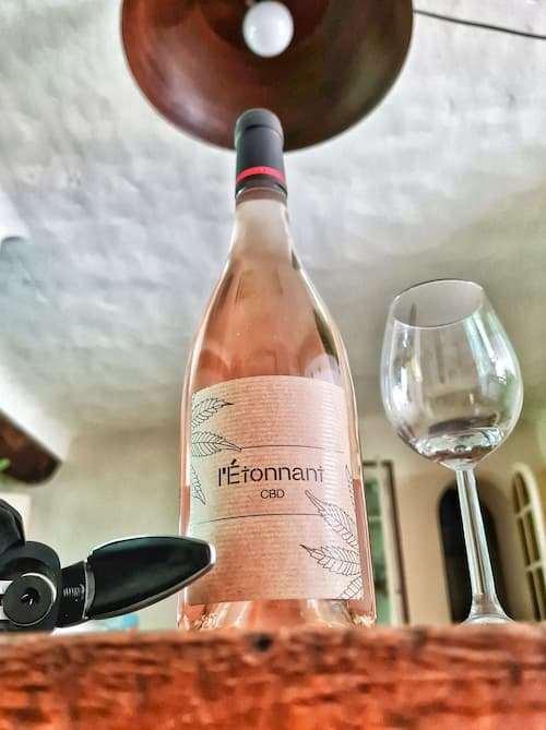 vin rosé L'Etonnant