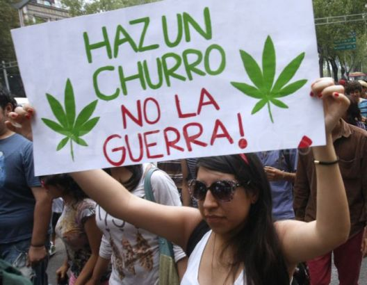 Protest pro Cannabis