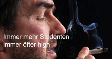 Immer mehr Studenten high