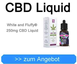 White and Fluffy® 250mg CBD Liquid