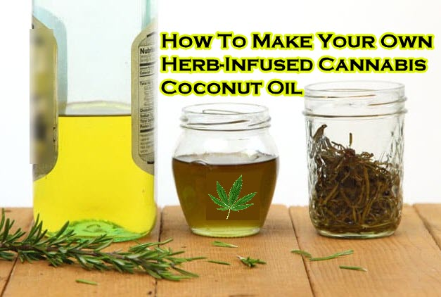 How To Make Your Own Herb Infused Cannabis Coconut Oil