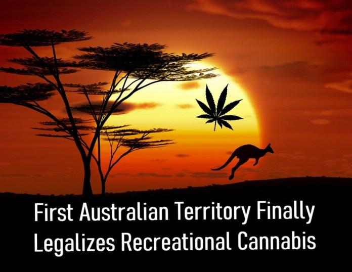 AUSTRALIAN TERRITORY FOR MEDICAL MARIJUANA