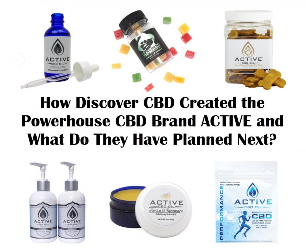 discover cbd active brand
