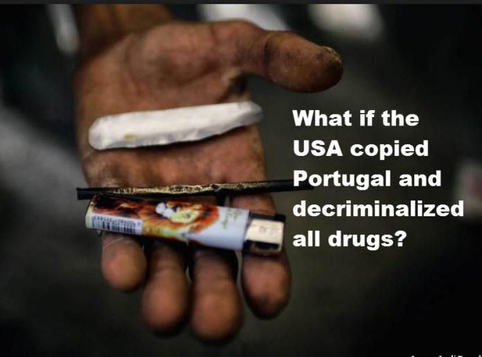 PORTUGAL DECRIMINALIZES DRUG USE