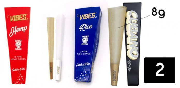 vibe cones and papers