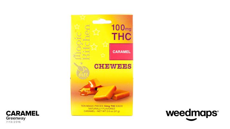 Magic Kitchen Caramel Chews 10mg10pk  Edible
