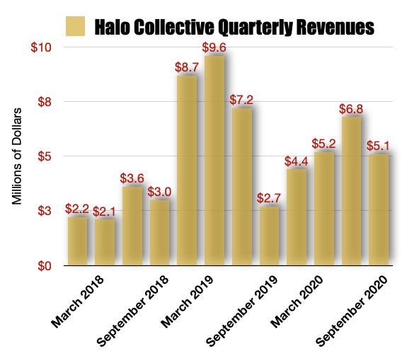 Halo Collective Revenue