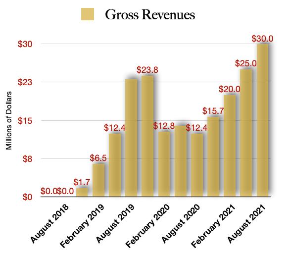 Valens Revenue Projections