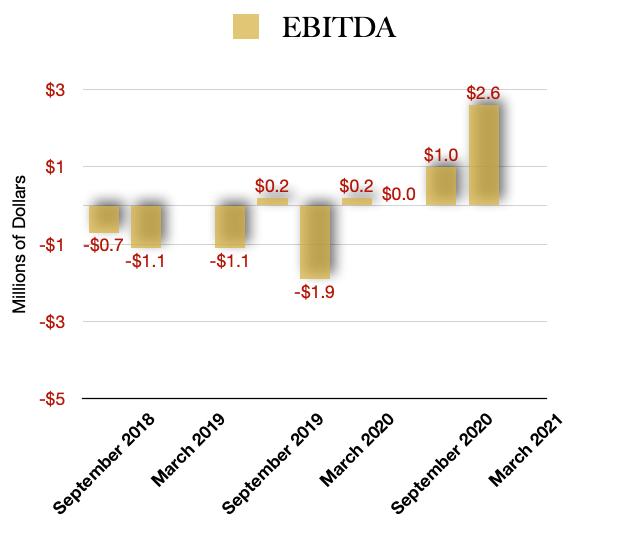 Next Green Wave EBITDA