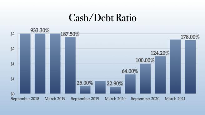 Next Green Wave Cash - Debt Ratio