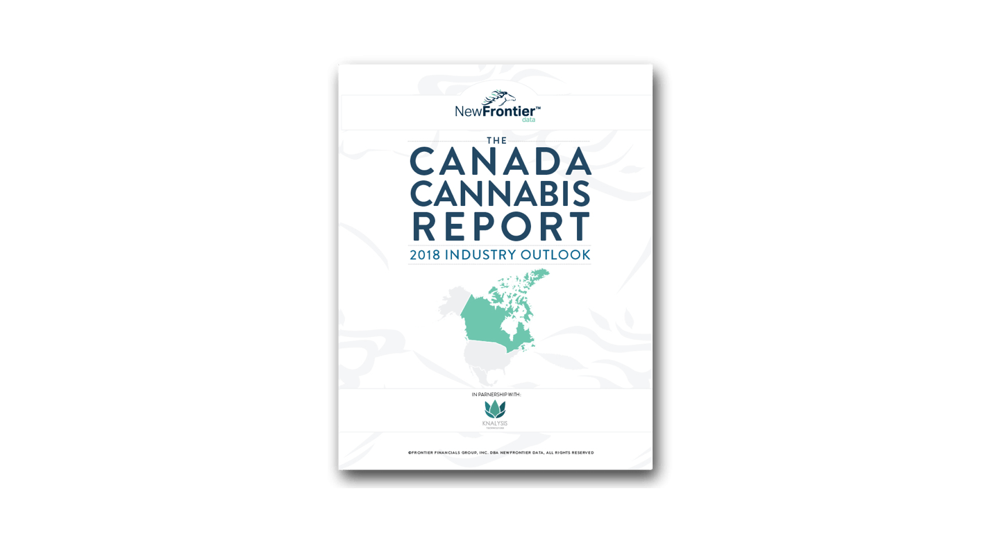 New Frontier Data Publish Canada Cannabis Report: 2018