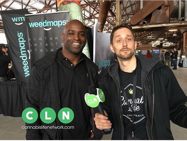 Ricky Williams and Craig Ex and Cannabis Life Conference