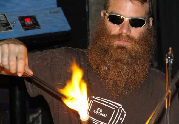 Parenting during Prohibition - an interview with glass artist Red Beard