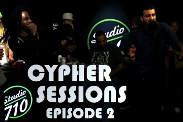 Episode 2 of Cypher Sessions at Studio710