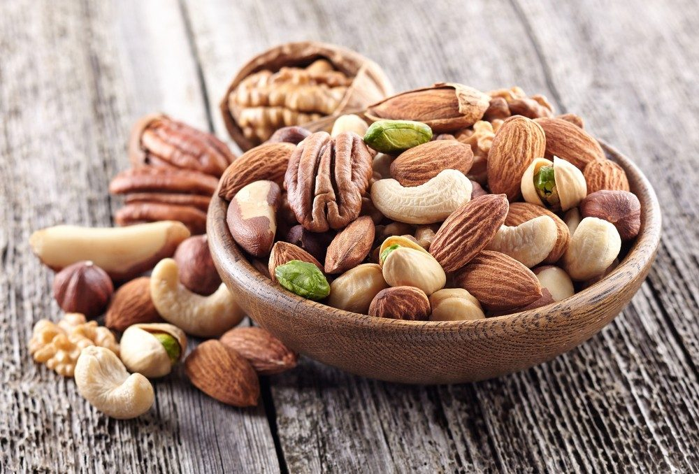 Healthy foods for nuts