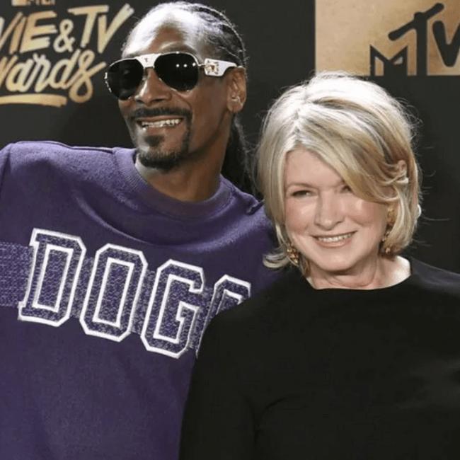 Martha Stewart roll a joint