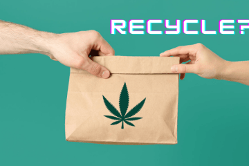 Recycle cannabis packaging