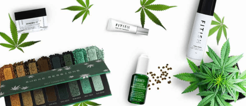 cannabis in cosmetics